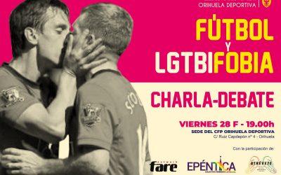 Charla sobre la LGTBIfóbia en el fútbol